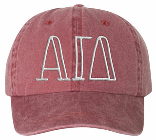 Alpha Gamma Delta Carson Greek Letter Hats