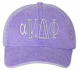 alpha Kappa Delta Phi Carson Greek Letter Hats