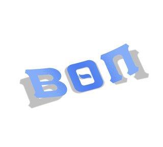 Beta Theta Pi Big Greek Letter Window Sticker Decal