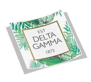 Delta Gamma Tropical Sticker Decal