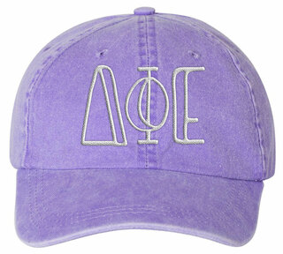 Delta Phi Epsilon Carson Greek Letter Hats