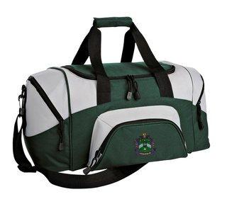 Delta Sigma Phi Colorblock Duffel Bag