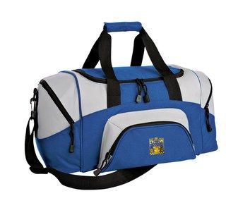 Delta Upsilon Colorblock Duffel Bag
