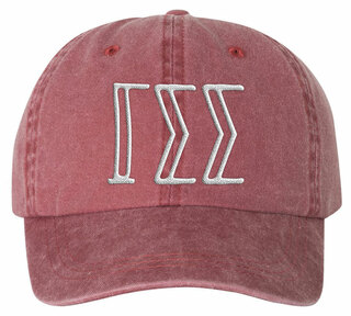 Gamma Sigma Sigma Carson Greek Letter Hats