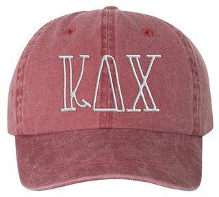 Kappa Delta Chi Carson Greek Letter Hats