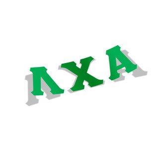 Lambda Chi Alpha Big Greek Letter Window Sticker Decal