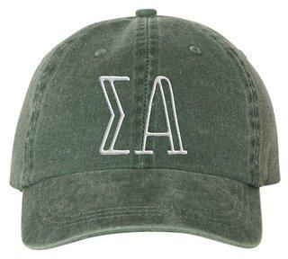 Sigma Alpha Carson Greek Letter Hats