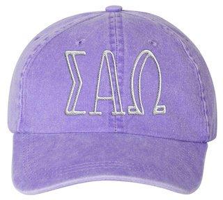 Sigma Alpha Omega Carson Greek Letter Hats