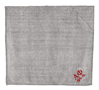 Alpha Phi Sherpa Blanket