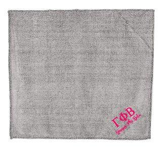Gamma Phi Beta Sherpa Blanket