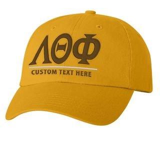 Lambda Theta Phi Old School Greek Letter Hat
