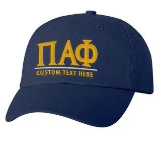 Pi Alpha Phi Old School Greek Letter Hat