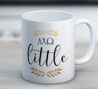 Alpha Chi Omega Little Coffee Mug