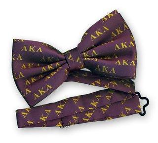 Alpha Kappa Lambda Bow Tie - Woven