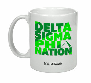 Delta Sigma Phi Nations Coffee Mug