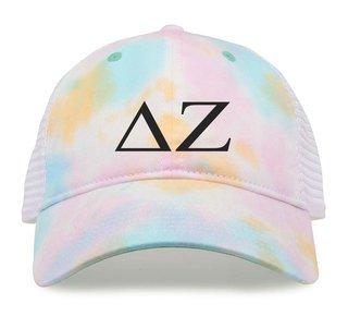 Delta Zeta Lettered Sorbet Cap