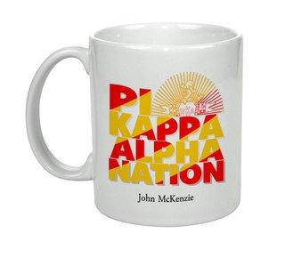 Pi Kappa Alpha Nations Coffee Mug