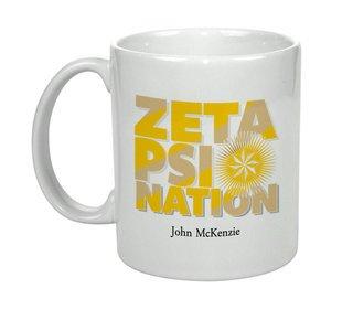 Zeta Psi Nations Coffee Mug