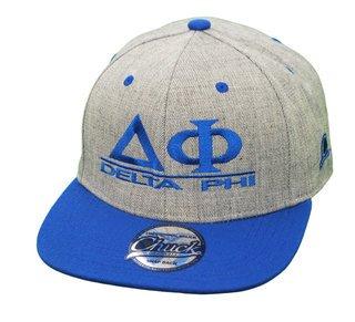 Delta Phi Flatbill Snapback Hats Original