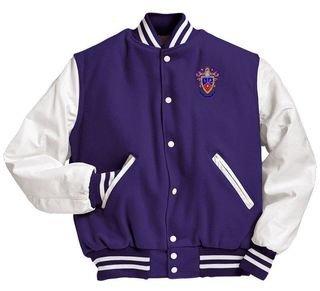 Delta Sigma Pi Varsity Crest - Shield Jacket