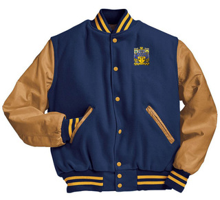 Delta Upsilon Varsity Crest - Shield Jacket