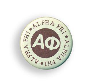 Alpha Phi Button Circle