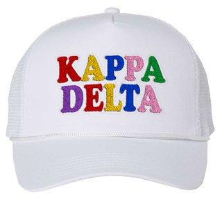 Kappa Delta Rainbow Trucker Hat