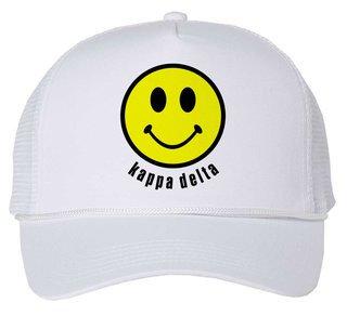 Kappa Delta Smiley Face Trucker Hat