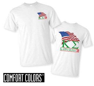 Kappa Sigma Patriot  Limited Edition Tee - Comfort Colors