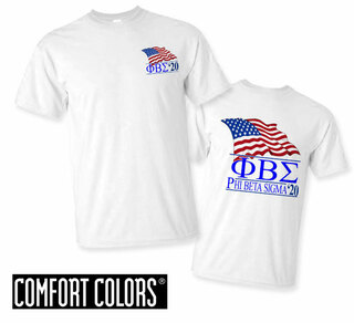 Phi Beta Sigma Patriot  Limited Edition Tee - Comfort Colors