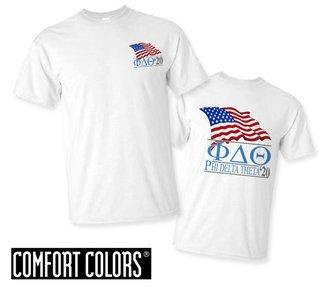Phi Delta Theta Patriot  Limited Edition Tee - Comfort Colors