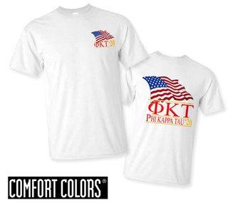Phi Kappa Tau Patriot  Limited Edition Tee - Comfort Colors
