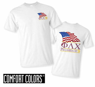 Phi Lambda Chi Patriot  Limited Edition Tee - Comfort Colors