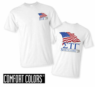 Sigma Tau Gamma Patriot  Limited Edition Tee - Comfort Colors