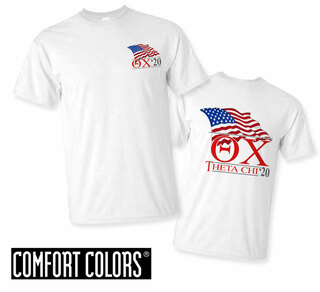 Theta Chi Patriot  Limited Edition Tee - Comfort Colors