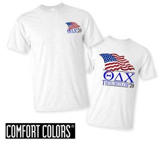 Theta Delta Chi Patriot  Limited Edition Tee - Comfort Colors