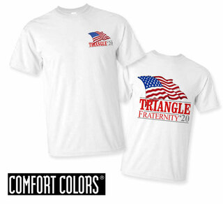 Triangle Patriot  Limited Edition Tee - Comfort Colors