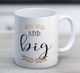 Alpha Epsilon Phi Big Coffee Mug