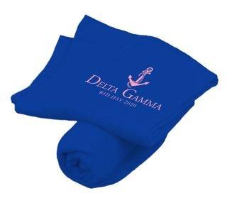 Delta Gamma Mascot Sweatshirt Blanket