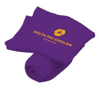 Delta Phi Epsilon Mascot Sweatshirt Blanket