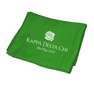 Kappa Delta Chi Mascot Sweatshirt Blanket