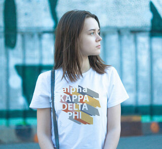 alpha Kappa Delta Phi Califonic Tee - Comfort Colors