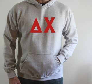 Delta Chi letter Hoodie