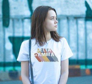 Delta Gamma Califonic Tee - Comfort Colors