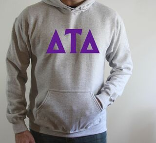 Delta Tau Delta letter Hoodie