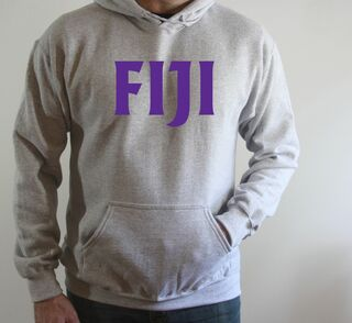 Phi Gamma Delta - FIJI Fraternity letter Hoodie