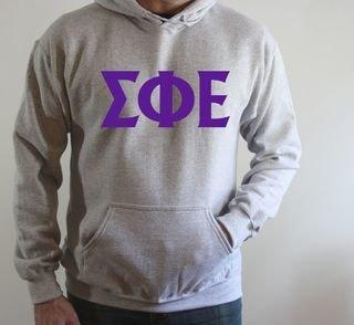 Sigma Phi Epsilon letter Hoodie
