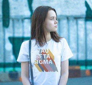 Tau Beta Sigma Califonic Tee - Comfort Colors