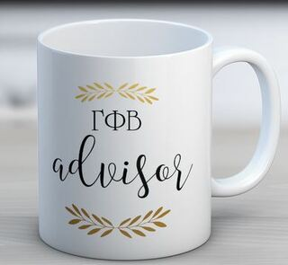 Gamma Phi Beta Advisor Coffee Mug