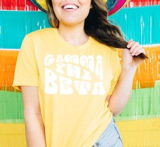 Gamma Phi Beta Sorority Shag T-Shirt